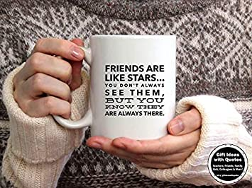 Amazoncom Friends Are Like Stars Quote Friend Distance Gift Friend