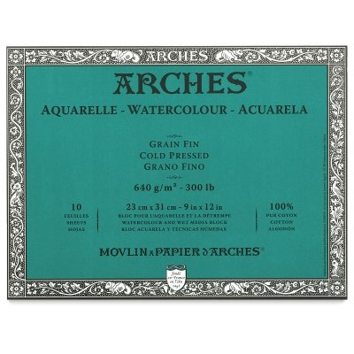 Review Arches Watercolor Block, Hot