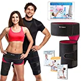 ADROWARE Hip Brace - Groin Support for Sciatica Nerve Pain Relief|Hip Flexor Joint Pain|Groin Compression Wrap for Pulled Muscles|Thigh|Hamstring|Quadriceps|Sciatica Brace|SI Belt