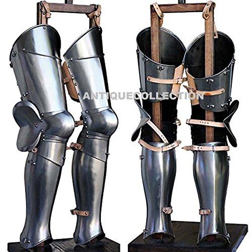 Knight Leg Armor (ANTIQUECOLLECTION Medieval LARP Armor Leg)
