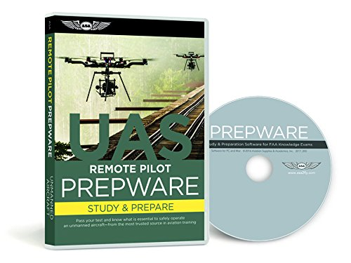 Price comparison product image ASA Prepware: Remote Pilot - Unmanned Aircraft Systems (UAS) - ASA-TW-UAS