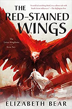 The Red-Stained Wings by Elizabeth Bear science fiction and fantasy book and audiobook reviews