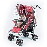 FASOTY Stroller Rain Cover Universal Waterproof Baby Stroller Cover, Rain Cover for Stroller, Jogging Stroller Rain Cover, Pu