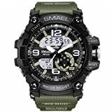 Men Sports Watches Military Watch Date Quartz Stopwatch Masculino Analog Army LED Watches