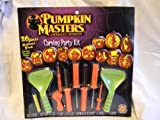 Deluxe Pumpkin Masters 26 Pc Carving Party Kit