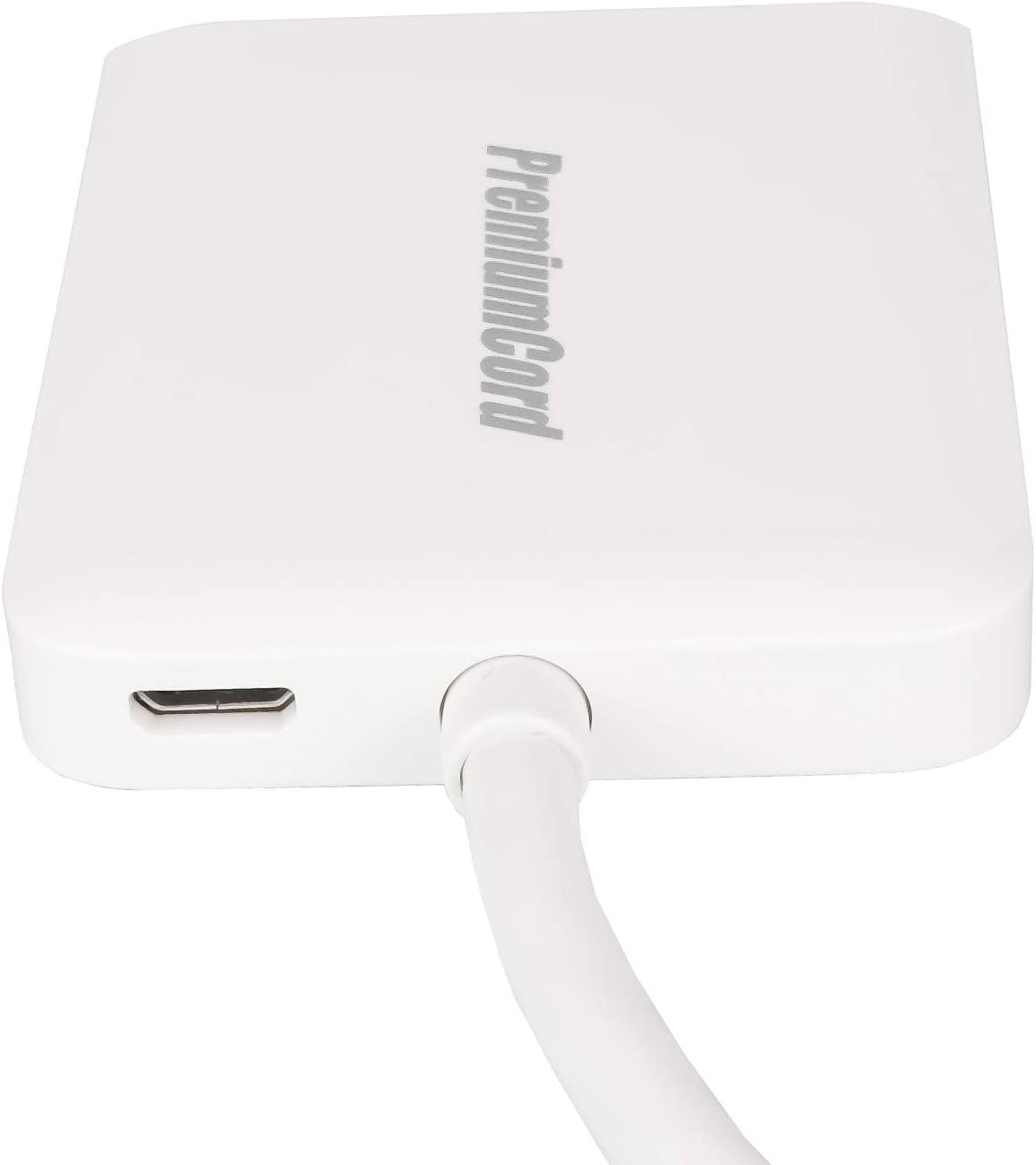 Premiumcord Mst Adapter Mini Displayport 1 2 Auf 2x Computer Zubehör