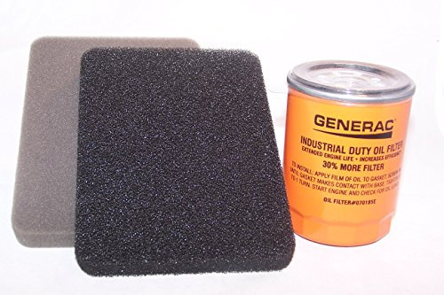 Generac 0G84420151 Generator Air Filter (Air and Oil) (Air Generac Filter)