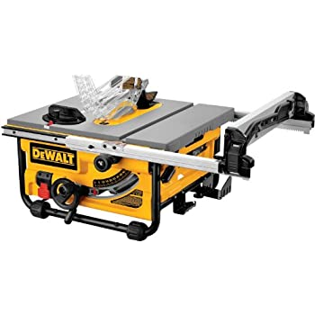 Makita 2705 10 inch contractor table saw power table saws amazon dewalt dw745 10 inch compact job site table saw with 20 inch max rip capacity 120v greentooth Gallery