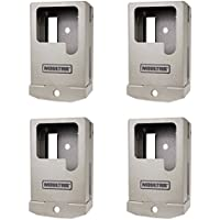 Moultrie A Series 2016-2017 Model Game Trail Camera Security Case Box, 4 Pack