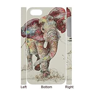 custom iphone4,iphone4s 3D case, elephant 3D cell phone case for iphone4,iphone4s at Jipic (style 1)