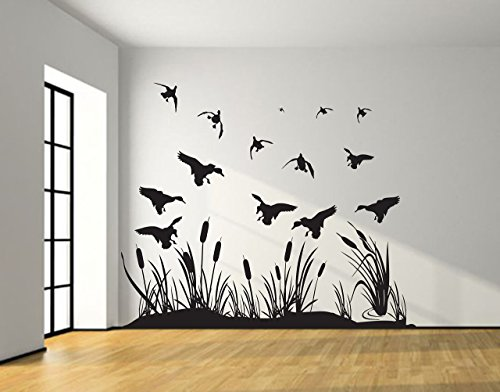 Top 9 Cattails Wall Decor