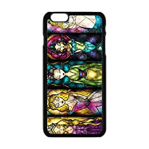 Disney stained glass Case Cover For iPhone 6 Plus Case