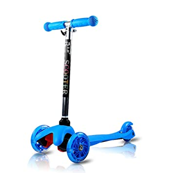 Amazon.com: Scooters 2-8 Years Old Child Baby 3 Wheel Kick ...