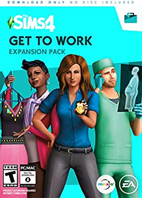 Amazon com: The Sims 4 Get to Work: PC: Video Games