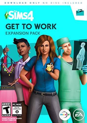 The Sims 4 Get to Work (Sims 4 Cats And Dogs Expansion Pack)