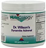 Nutricology Dr. Wilson's Dynamite Adrenal Powder, 300 Grams