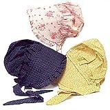 Medium Childs Print Prairie Sun Bonnet Color Will Vary by Americana