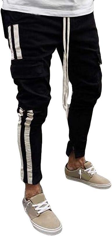 Pantalones Vaqueros Negros Para De Chino Ropa Pantalon Hombre Festiva Tela Pantalones Pitillo Ajustados Con Pantalones De Vaquero Multibolsillos Pantalones Casuales Color Schwarz Size 2xl Amazon Es Ropa Y Accesorios