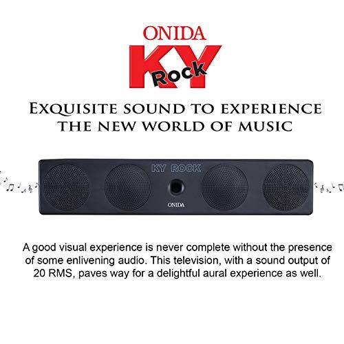 Onida 108 cm (43 Inches) 4K UHD LED TV 43UIR (Black)
