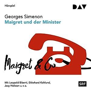 Maigret und der Minister (Kommissar Maigret 46) Hörspiel