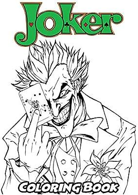 Batman Arkham City Joker Coloring Pages | Superhero coloring pages ... | 400x284