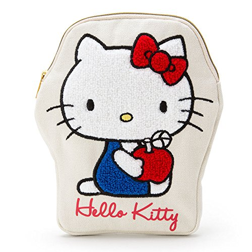 Sanrio Hello Kitty Pen Pouch Sagara embroidery From Japan New (Famous People With Wigs)