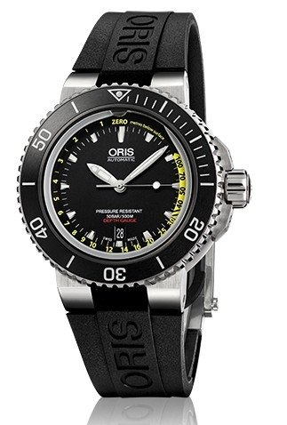 Oris-Mens-73376754154SET-Analog-Display-Automatic-Self-Wind-Silver-Watch-with-Extra-Black-strap