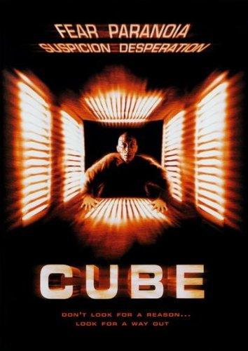 Cube Announcement Movie (27 x 40 Inches - 69cm x 102cm) (1997) (Style B)