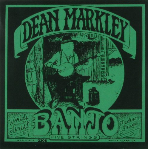 - Dean Markley Banjo 5-String, 2306, Medium