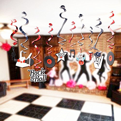 Buy rock star party decoration