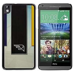 // PHONE CASE GIFT // Duro Estuche protector PC Cáscara Plástico Carcasa Funda Hard Protective Case for HTC DESIRE 816 / Equipo deportivo /