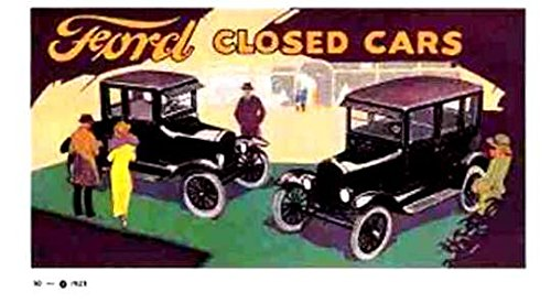 Download COMPLETE & UNABRIDGED 1920 1921 1922 1923 FORD MODEL T CLOSED CAR FACTORY DEALERSHIPS SALES BROCHURE - ADVERTISMENT pdf