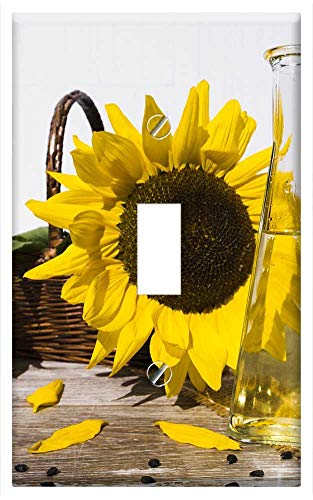 - Switch Plate Single Toggle - Oil Sunflower Oil Cooking Oil Food Nutrition Cook