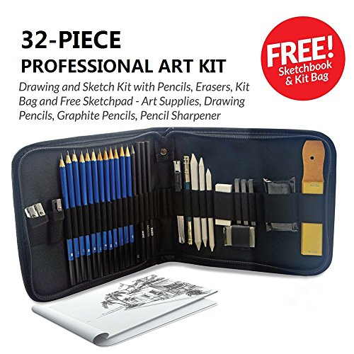 drawing kit with eraser - 6