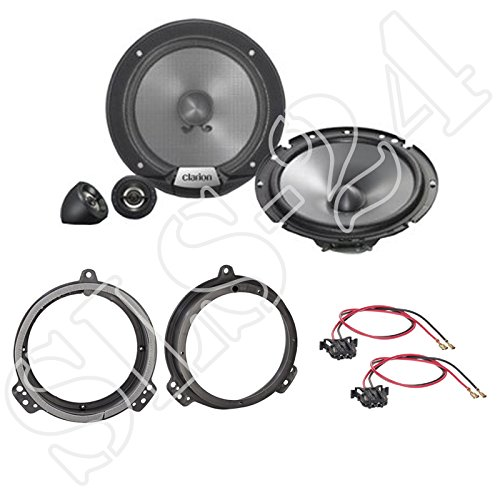 271320-35 Lautsprecher Adapter Ringe für Mercedes E-Klasse W211 Front//Heck