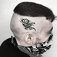 MKMBLV Impermeable Falso Tatuaje Temporal Etiqueta engomada ...