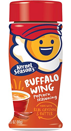 Kernel Season's Popcorn Seasoning, Buffalo Wing, 2.85 ounce (Pack of 6)