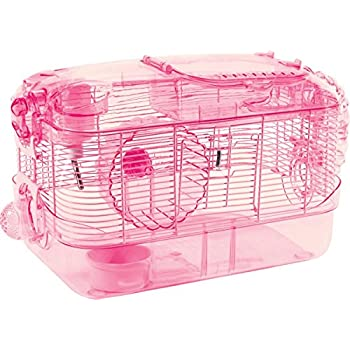 Kaytee CritterTrail One Level Habitat Pink Edition