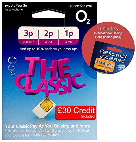 Three UK PAYG Trio SIM with £10 Credit + International