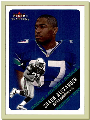 2000 Fleer Tradition #331 Shaun Alexander RC Rookie SEATTLE SEAHAWKS ALABAMA CRIMSON TIDE ()