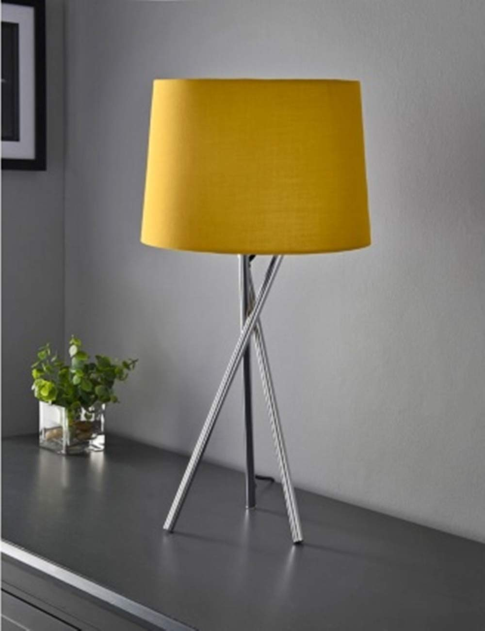 Vintage Tripod Design Table Lamp Give Your Home,Office,Living Room a Truly Contemporary Look Ochre