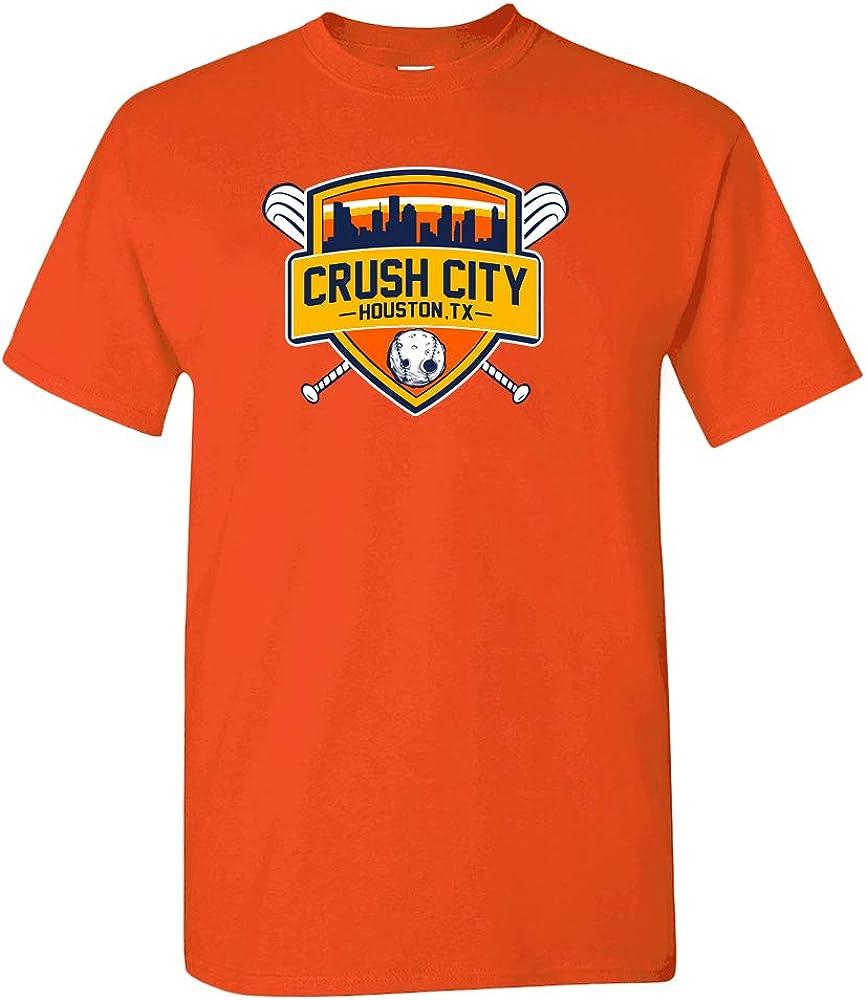 Crush City Houston Baseball Fans T-Shirt