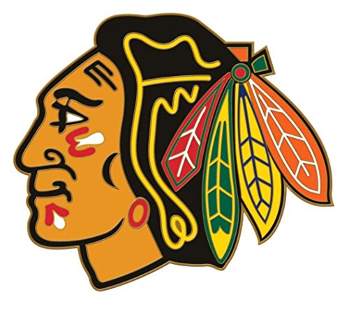 Wincraft NHL Official Chicago Blackhawks Logo 1-inch Metal Collectors Pin