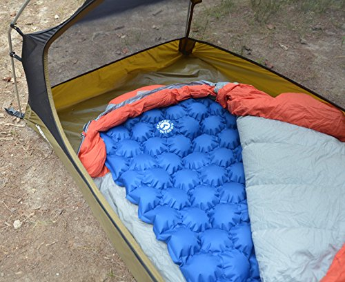 EcoTek Outdoors Hybern8 Ultralight Inflatable Sleeping Pad For Hiking