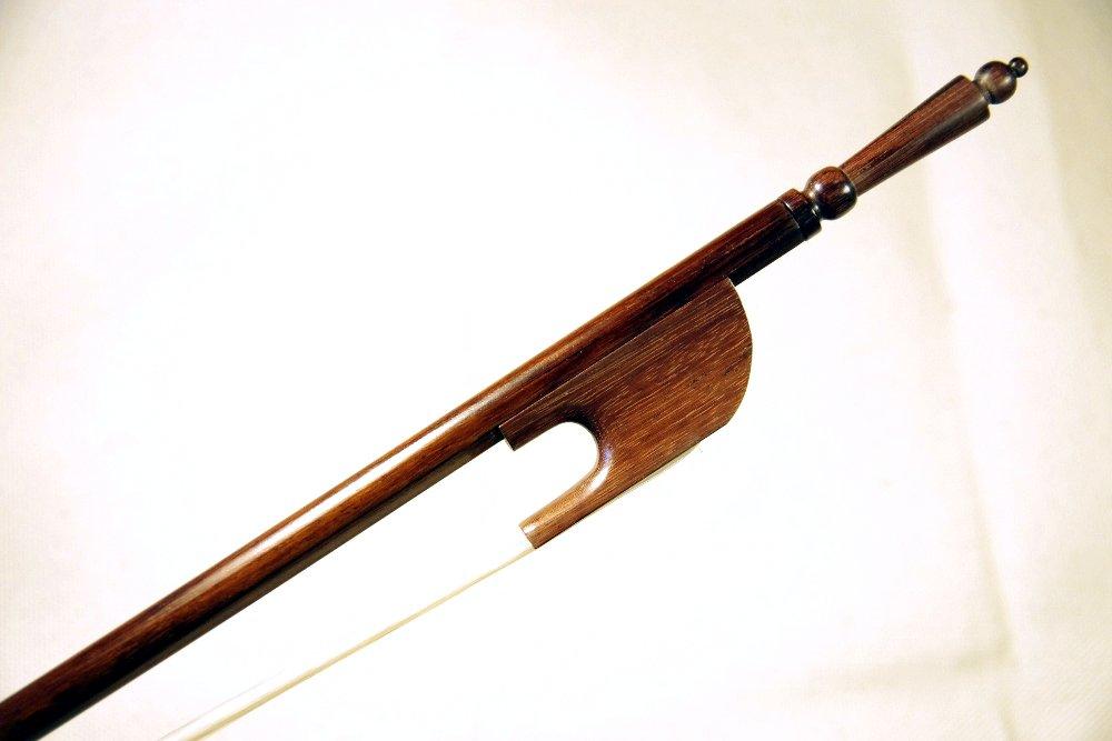 artigiano&violin バイオリン弓 アフリカンブラックウッド ビオラダガンバ バロック 弓ケース付   B01KHJ8KZU