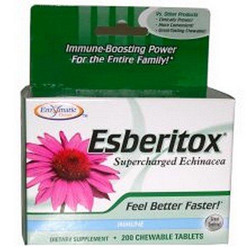 Enzymatic Therapy à croquer 200 comprimés Esberitox,