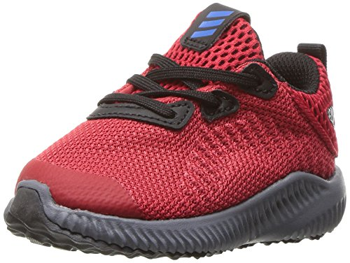 adidas Kids' Alphabounce Sneaker, Scarlet/Satellite/Black, 7 M US Toddler by adidas (Image #1)