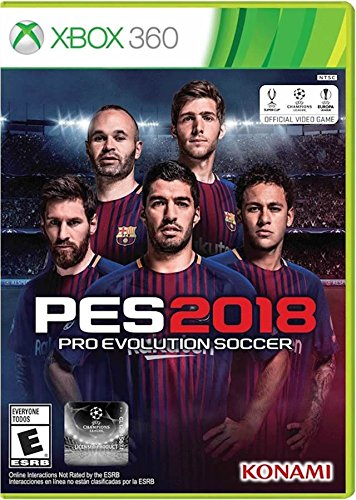 Pro Evolution Soccer 2018 - Xbox 360 Standard Edition (Xbox 360 Soccer Games)