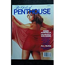 The Girls of PENTHOUSE 1987 07/08 COLLECTOR'S EDITION MISS AMERICA VANESSA WILLIAMS ALL NUDE