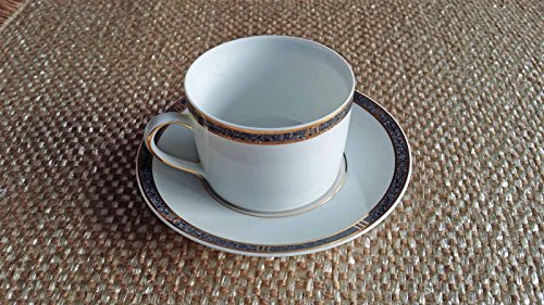 Bernardaud Antinea Anthracite Cup & Saucer Bernardaud Gifts